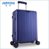 La venta caliente 4 de Junyou rueda 20 24 equipajes laterales duros del aeroplano del marco de aluminio de la pulgada