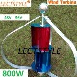 """AC 48V96V 800W """"Q """" Prijs China van de Turbine van de Wind van het Type de Verticale"""