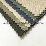 Tissu de Terry antistatique ignifuge de sergé unisexe pour les vêtements de travail/uniforme/vers le bas les jupes/sofa