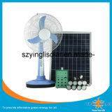 Home Use15W20W25W Kit de luz solar e ventilador solar