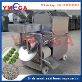 Fácil Operação Máquina automática de carne de peixe e separação de ossos