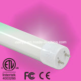 los 2FT/3FT/4FT/5FT/8FT, alto tubo T8 del lumen LED de 10With12With18With22With36W G13 con Dlc y ETL