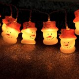 Luz decorativa Shaped del muñeco de nieve plástico LED (26-1P1619)