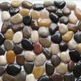 工場混合された小石の石のタイル
