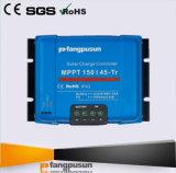 regulador de carga inteligente 45A de la potencia de batería solar del azul MPPT150/45 Tr 12V 24V 36V 48V MPPT del sistema Fangpusun del panel de 2600W picovoltio