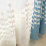Rideau en guichet neuf d'arrêt total de broderie de polyester pour la chambre à coucher (29W0035)