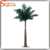 특유한 인공적인 나무는 옥외 가짜 인공적인 코코야자 나무를 디자인한다