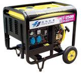 Ouvrir le type le générateur diesel refroidi à l'air (2/3//4/5/3/7/8/9/10KW)