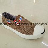 Zapatos de lona de la inyección de los hombres del Slip-on con buena calidad (FFZL1101-02)