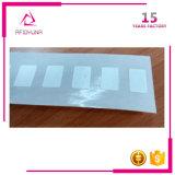 Contrassegno di carta dell'autoadesivo RFID di frequenza ultraelevata RFID