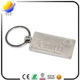 Catena chiave in lega di zinco di effetto dei pesci del metallo bello ed antico di figura con la perla e la stagnatura elettrolitica