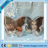 아크릴 사진 프레임 눈 지구 꽃 모양 물 공