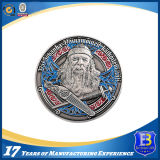 moeda do metal 3D com revestimento antigo para a promoção (ele-DT020)