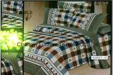 Polyester Microfiber druckte das Bettwäsche-Set, das für Haus oder Hotel verwendet wurde