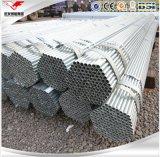 Tubo de zinco / tubo galvanizado para construção e estrutura de aço