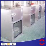 China Factory Price Cleanroom Pass Box, salle de toilette Pass Through Box