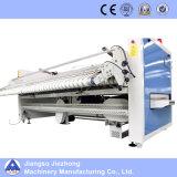 Vollautomatische industrielle Wäscherei-faltende Maschine für Blätter