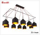 Indicatore luminoso Pendant moderno di alluminio della lampada del lampadario a bracci del LED per la casa