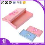 Caixa de presente de papel de empacotamento Foldable de Kraft do tamanho A4