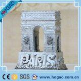 A resina favorita da lembrança Tourist do ímã do refrigerador coleta 3D