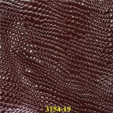 Modernes geprägtes synthetisches PU-Artikel-Leder für Ansammlungen der Fußbekleidung-Ss18