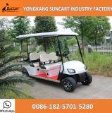 골프 코스를 위한 6 Seater 골프 카트, 4+2 Passanger 관광 지역을%s 전기 골프 카트