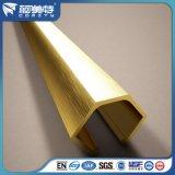 装飾のためのアルミニウムによって陽極酸化される銀製の金カラータイルのトリム