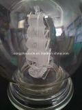 Botella de vino de cristal del diseño creativo para la decoración con precio bajo
