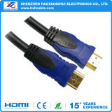 남성 컴퓨터를 위한 금에 의하여 도금되는 1.4V/1080P3d에 HDMI 케이블 남성