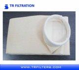 Sacos de filtro industriais dos PP do Polypropylene de feltro da agulha