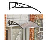 Silver Wing policarbonato Toldo hoja sólida puerta de la ventana toldo mirador (70 cm Sólido)
