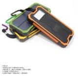 O carregador solar 10000mAh 5A/1A e 5V/2A do modelo novo do banco da potência solar do compasso Dual saída de potência