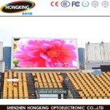 Tablilla de anuncios al aire libre de alquiler de LED P10 para hacer publicidad