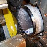 Type fixe machine à grande vitesse de tailler et de découpage de pipe