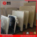 Máquina de desecación de la prensa de filtro del lodo para el tratamiento de aguas residuales industriales