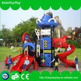 Campo de jogos ao ar livre do equipamento popular do campo de jogos do miúdo com corrediça (KP1512438)