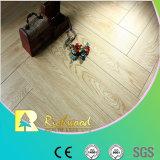 Geprägter Eichen-V-Grooved lamellierter Fußboden der Werbungs-8.3mm AC3