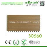 Panneau composé de sauna d'Anti-Fissure de tuile de paquet de HDPE antidérapant
