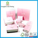 Подгонянная высоким качеством коробка ювелирных изделий картона