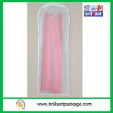 Panneau transparent de vêtement de robe de mariage de PVC de promotion