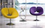 普及した販売型の泡のラウンジチェア棒椅子のコーヒー椅子