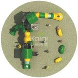 Средний размер Kaiqi ягнится любимейшая напольная спортивная площадка Platstic с Multi скольжениями и альпинистами