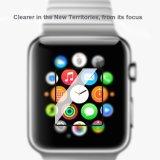超Appleの腕時計スクリーンの保護装置の反泡HD盾のためのフルスクリーンの適用範囲