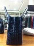 Sac à main de Satchel de serviette structuré par cadenas de cuir de Faux de Dasein, comprimé, sac d'iPad