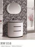 Шкаф ванной комнаты с зеркалом СИД и шкафом стороны