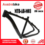 "26 do "" frame cheio 26 do carbono MTB da suspensão do frame carbono"