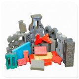 Bloco oco concreto do cimento automático que faz a máquina/máquina do tijolo
