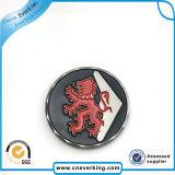 Pin отворотом металла значка яркия блеска эмали верхнего качества Китая изготовленный на заказ