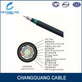 Câble fibre optique blindé échoué GYFTY53 de tube desserré