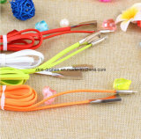 Mikro-USB-Daten-Kabel-Nudel USB-Kabel für Handy, Kabel-Verbinder USB-2 in-1